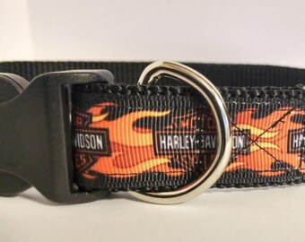 Dog Collar Harley - Adjustable Dog Collar Harley Davidson