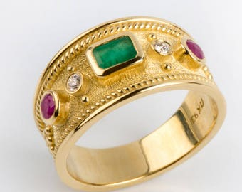 Byzantine jewelry | Etsy