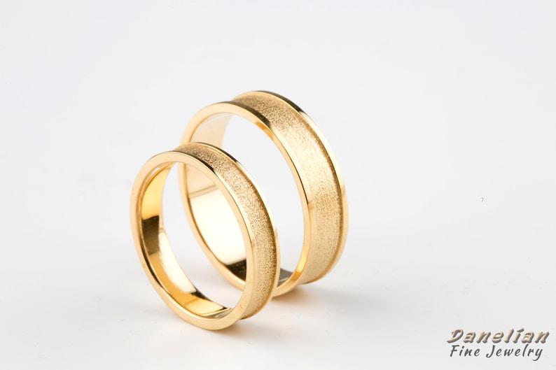 c6b14d73c2c Elegant Wedding Band Wedding Band Set Marriage Gold Rings