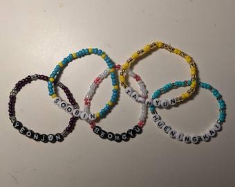 TXT inspired bracelets