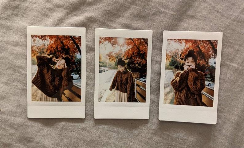 Twice Dahyun girlfriend polaroid set of 3