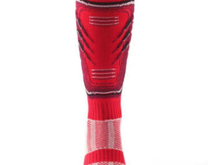 Samson® Shin Pad Funky Socks Sport Knee High Sport Football Rugby Soccer