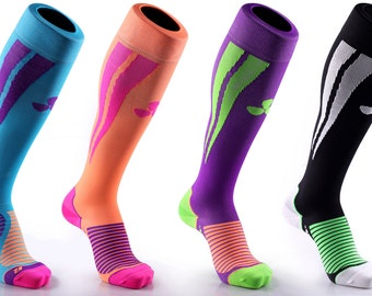 Samson® Compression Sports Socks Athletic Running Made in UK