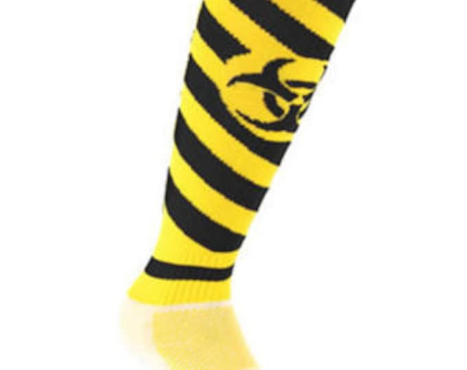 Samson® Radiation Funky Socks Sport Knee High Sport Football Rugby Soccer