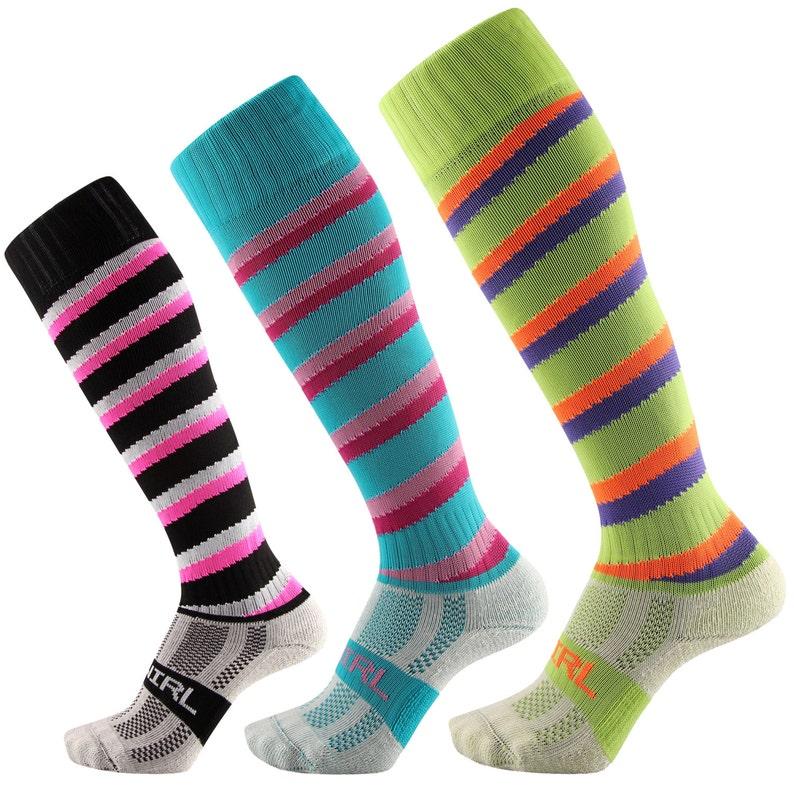 ac577059d1f Samson® Swirl Spiral Funky Socks Candy Cane Sport Knee High