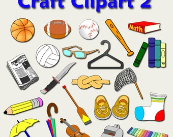 Download Craft Clipart Part 1 By Adorable Kinders Etsy