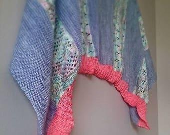 Knitting PATTERN - Sunken Garden, Digital Download, DIY Pattern, PDF Pattern