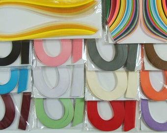120 bandes de papier QUILLING 5mmx52cm ECRU Loisirs créatifs DIY déco