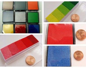 Petit Encreur Encre tampon encreur couleur au choix Carterie scrapbooking
