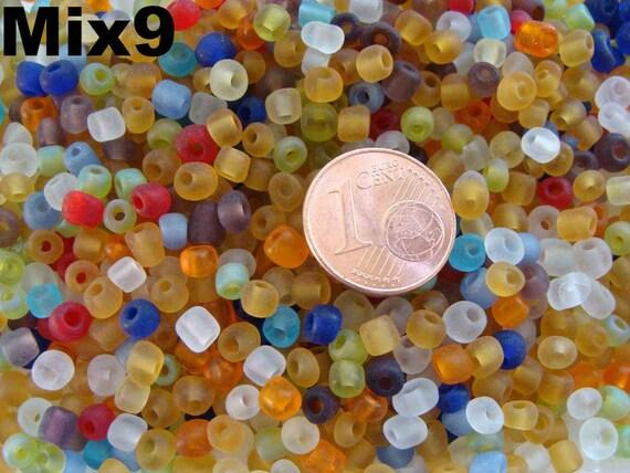 6 perles Fleurs 15mm Marron Miel verre lampwork DIY Création Bijoux Loisir