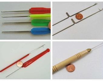 Crochet simple ou refermable outils DIY mercerie loisirs créatifs modèle au choix