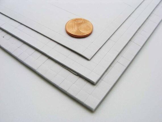 2 Rouleaux 8m adhésif Double face transparent largeur 5mm Scrapbooking collage