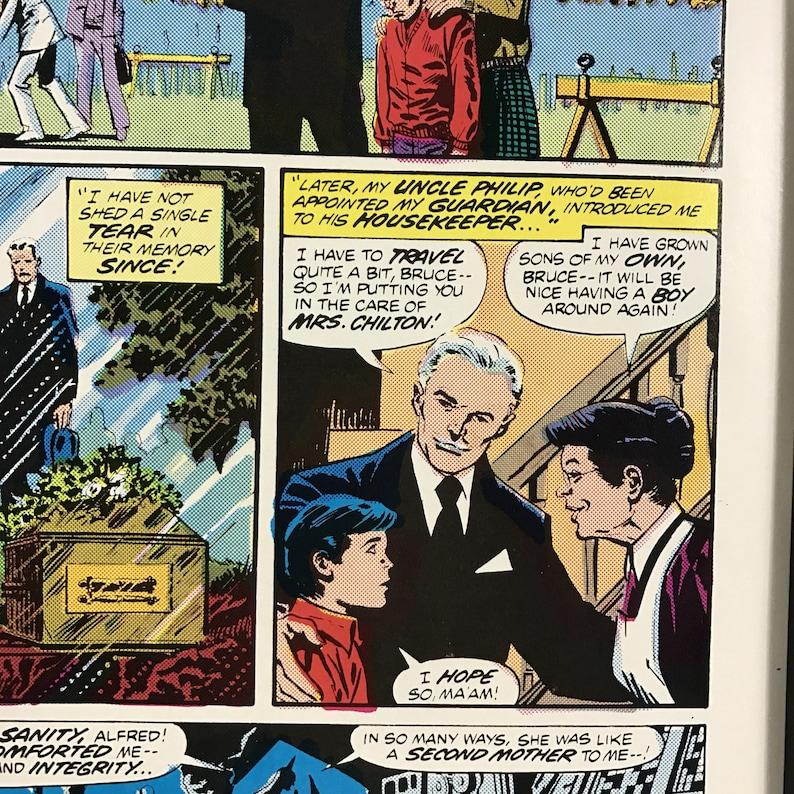 Man Cave Comic Retro Vintage Batman Frame 1980/'s Magazine Art Wall Decor Gaming Bedroom Grooms Gift For Him Gamer Son Dad Husband Joker