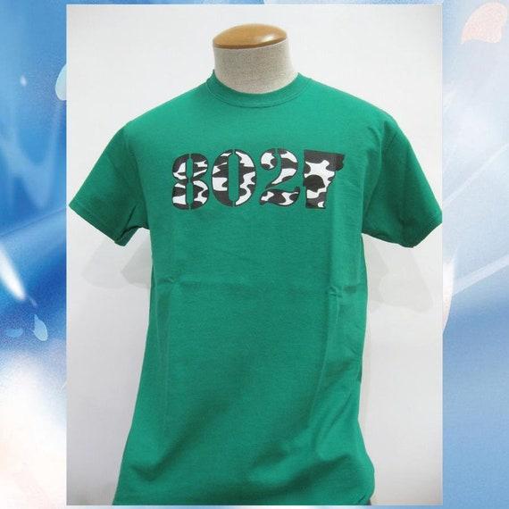 51c17bfa 802 Vermont Classic T-Shirt // Cow Camo T-Shirt // Cow Print   Etsy
