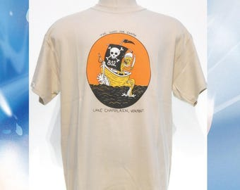 The Hunt for Champ T-Shirt // Lake Champlain // Champy // Vermont //
