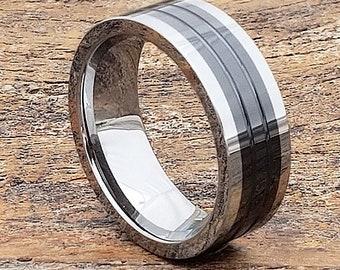 Black Ceramic Ring Etsy