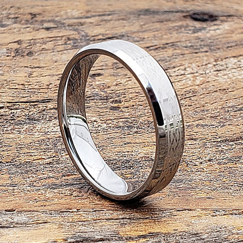 aed52d9a785 Knot Claddagh Ring Celtic Wedding Band Irish Ring Tungsten