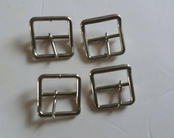 86f7ea476e664a metallo con pin o cintura o borsa quadrata in metallo nichelato loop
