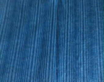 Blue striped jersey fabric