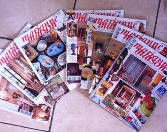 Marianne House 7 magazines DIY decoration