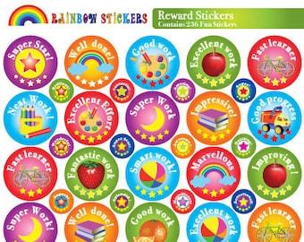 reward stickers, praise stickers, childrens stickers, teacher stickers, merit sticker, achievement sticker, kids sticker, teacher reward 236