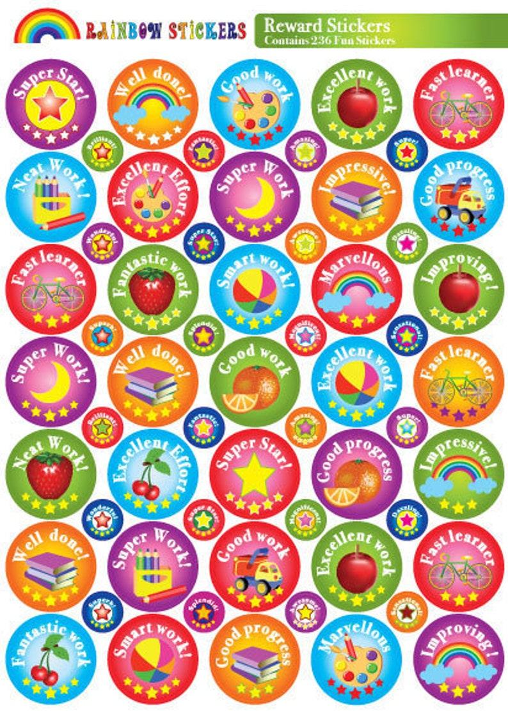 reward stickers praise stickers childrens stickers teacher image 0