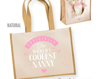 Nanny Gift Cool Bag Birthday For Present