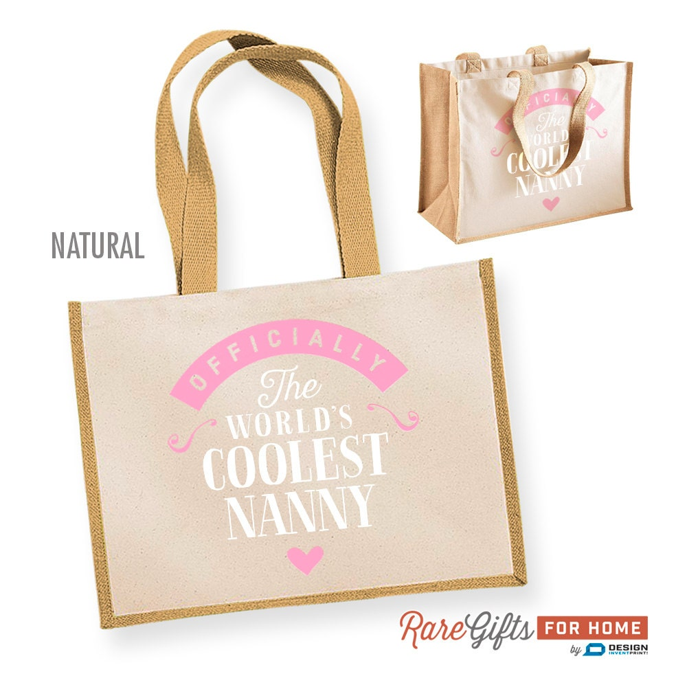 Nanny Gift Cool Bag Birthday For