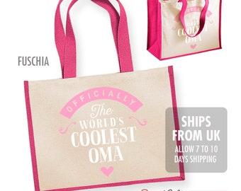 Oma Gift, Cool Oma, Oma Bag, Birthday Gift For Oma! Oma Present, Birthday Gift, Gift For Oma! Birthday Oma