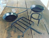 Hand Forged Camp Set