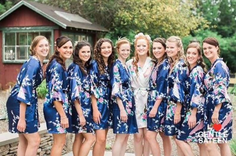 60% off CLEARANCE SALE Silk Bridesmaid Robes Bridesmaid image 0