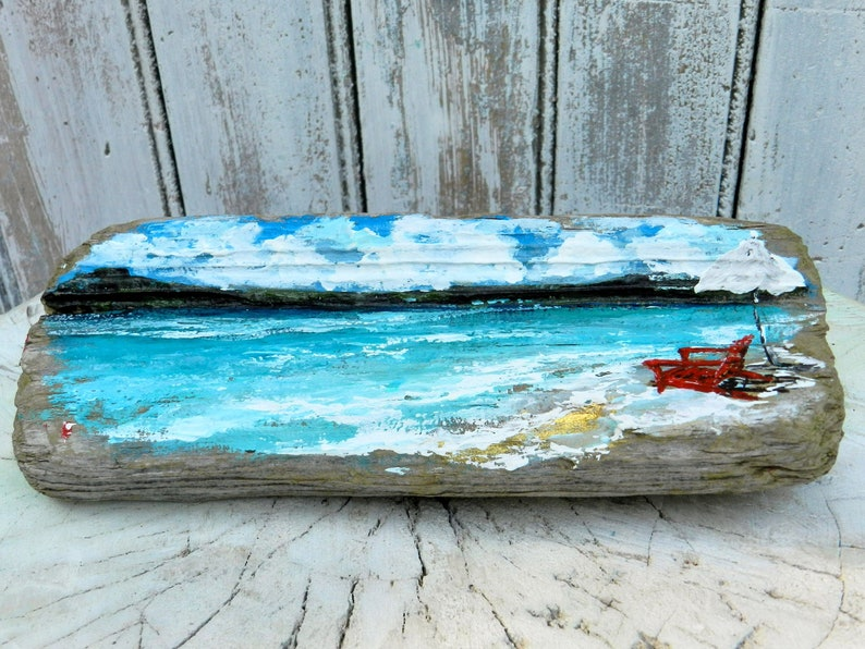 5037df29663c Driftwood driftwood art painted driftwoodbeach decorbeach