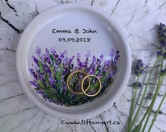 Wedding Ring Holder, Wedding Ring Dish, Personalized Ring Dish, Wedding Gift, Wedding gift for Couple, Bridesmaid gift, Anniversary Gift