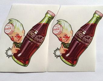 Pepsi Cola Bottle Die-Cut Vinyl Decal Sticker JDM Retro VTG Window Laptop Fridge