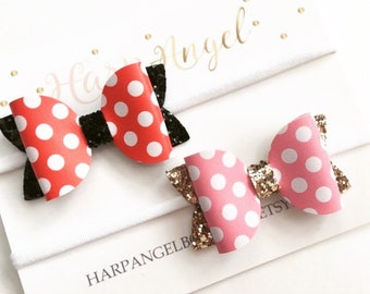 546825656f69 Minnie mouse bow