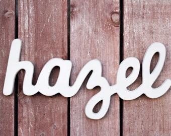 Shabby Chic Baby Name Sign - Nursery Decor - Shabby chic nursery