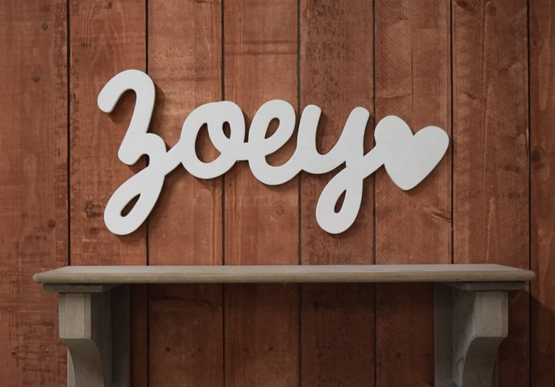 408e15679884 Wooden name sign baby name sign wooden letters nursery