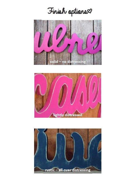 Olivia - Custom signe en bois - chambre de bébé - prénom bébé - mariage -  cadeau de Shower - bébé signe, décor de la chambre d'enfant, chambre ...