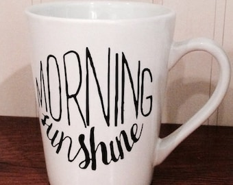 Hello Sunshine Coffe Mug