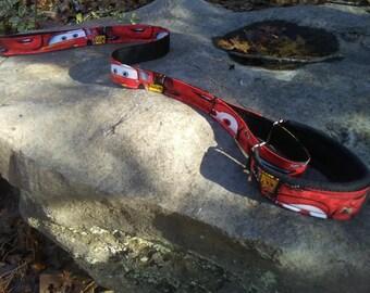 Martingale Leash slip leash barn hunt agility fast cat lore coarse dog sports Lightening McQueen Cars