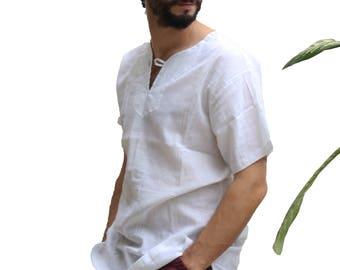Guayabera Organic Raw Cotton Shirt