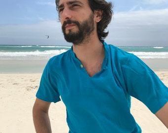 Organic Cotton Guayabera Shirt