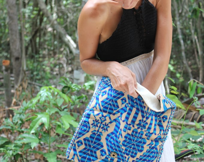 Featured listing image: Loom-Woven Clutch