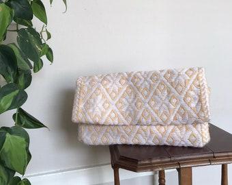 Loom-Woven Clutch