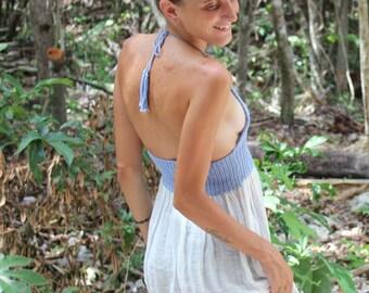 Organic Cotton Cielo Handmade Blouse/Dress