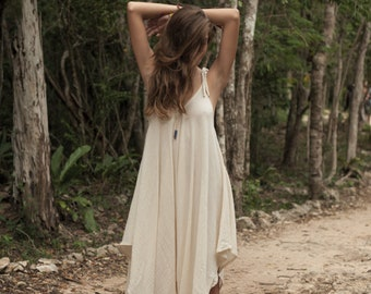 Light Natural Cotton Jumpsuit
