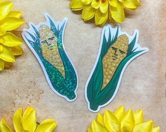 Yaoi Corn Sticker Large