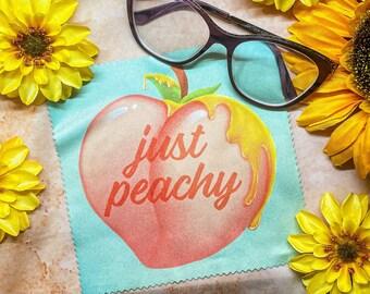 Just Peachy Microfiber Cloth 15cm x 15cm