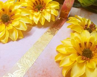 Sunflower Washi Tape 15mm