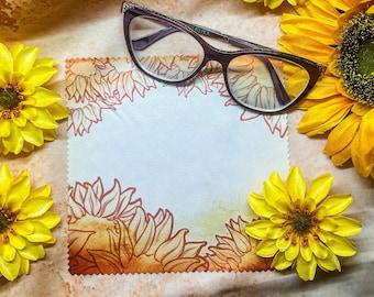 Sunflower Microfiber Cloth 15cm x 15cm